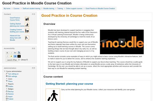 Good practice course